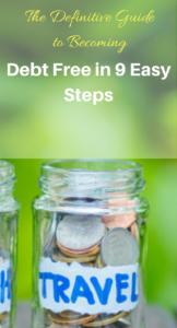 steps to live debt free