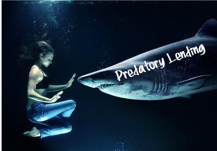 woman-predatory-lender-shark